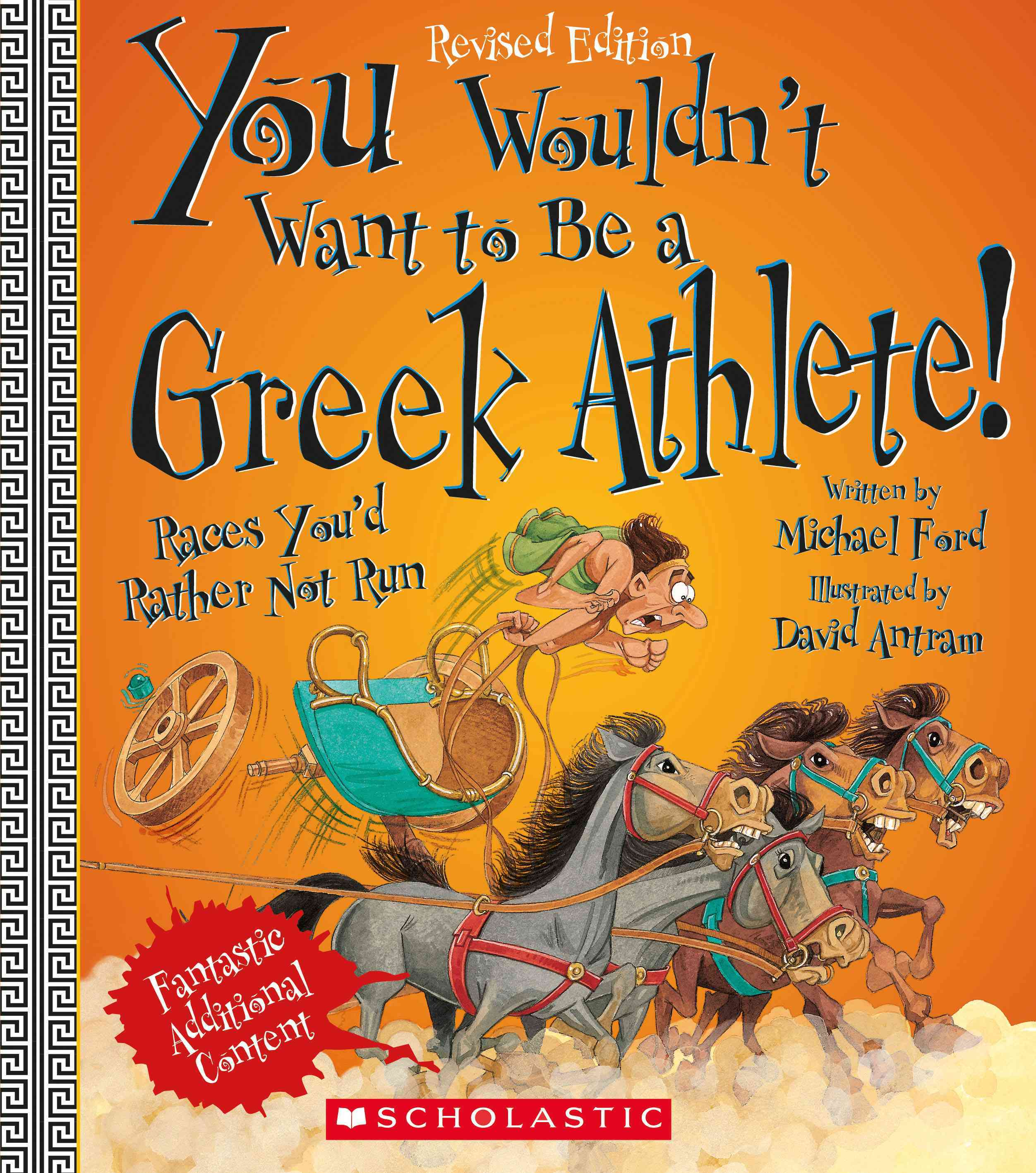 You Wouldn't Want to Be a Greek Athlete! By Ford, Michael
